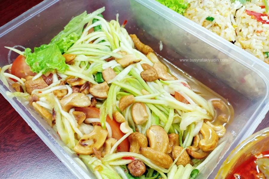 Black Canyon Aman Central, Black Canyon Alor Setar, Salted Fish Fried Rice, Mango Salad, Stir-Fried Prawn and Chicken, Pad Kra Praw,