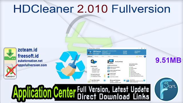 HDCleaner 2.010 Fullversion