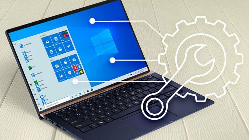 كيفية, ضبط, جهاز, كمبيوتر, يعمل, بنظام, Windows 10