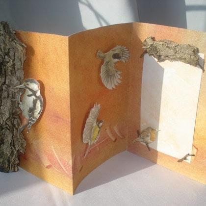 Bird and Bark Card Craft