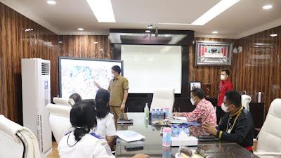 Dalam Kaitan Perbaikan Infrastruktur Areal Pelabuhan, KPLP Manado Bertemu Walikota AA