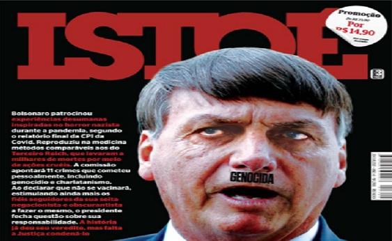 Revista retrata Bolsonaro como Hitler e causa revolta com os apoiadores do presidente