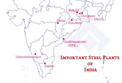 Steel Plants in India