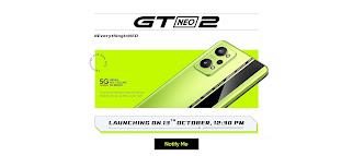 """""""Realme GT Neo 2"""" Smartphone Unveils in India"""