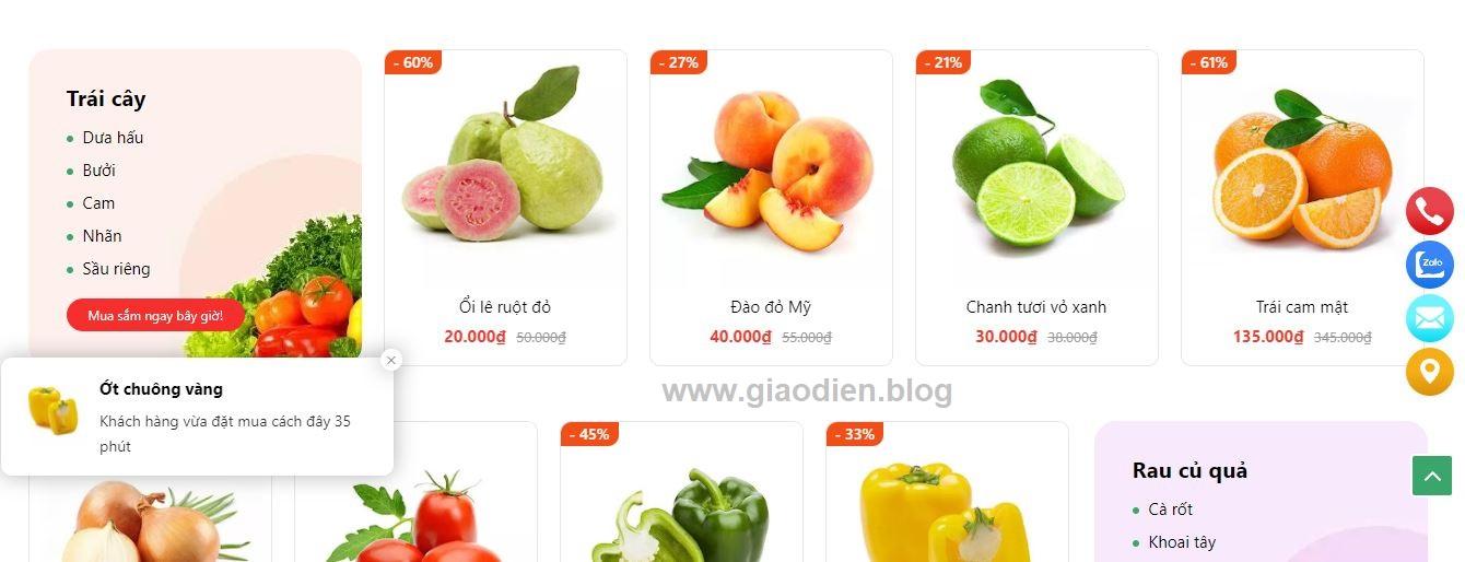 Sale Popup hiển thị giúp kích thích khách mua hàng