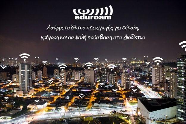 eduroam: Δωρεάν διεθνές δίκτυο ασύρματης πρόσβασης στο διαδίκτυο