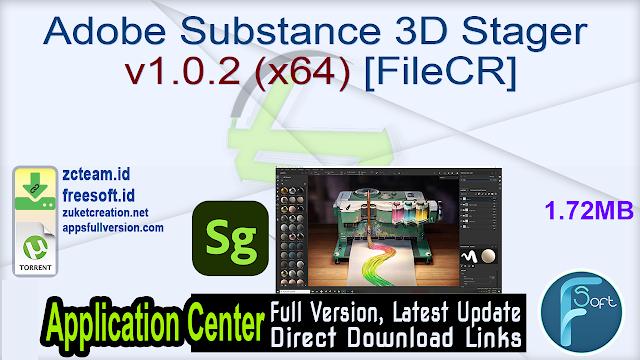 Adobe Substance 3D Stager v1.0.2 (x64) [FileCR]