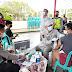 Kapolres Merangin Monitoring Pelaksanaan Vaksinasi Massal di Depan Mesjid Raya Al-Istiqomah Pasar Bawah Bangko
