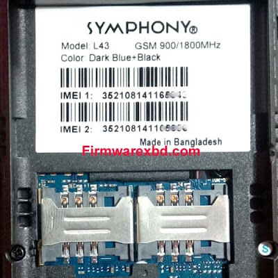 Symphony L43 Flash File