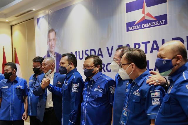 Musda ke V Demokrat Lampung Belum Putuskan Siapa Ketua
