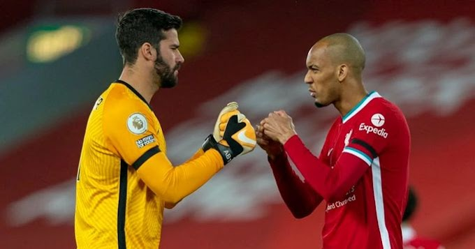Alisson and Fabinho available ahead of Liverpool vs Atletico Madrid clash