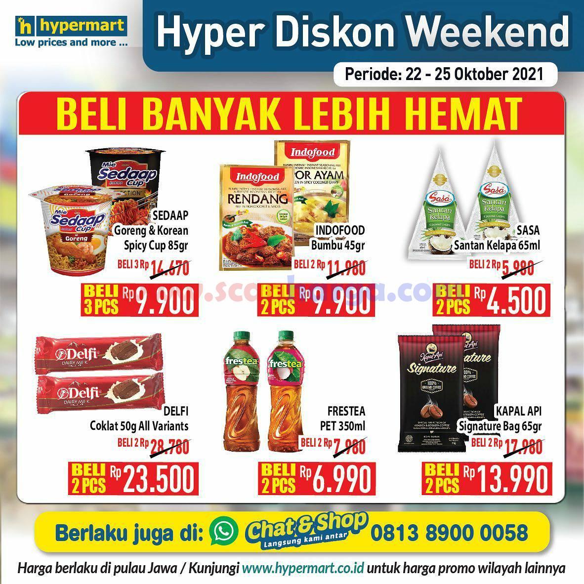 Promo Hypermart Weekend Terbaru 22 - 25 Oktober 2021 6