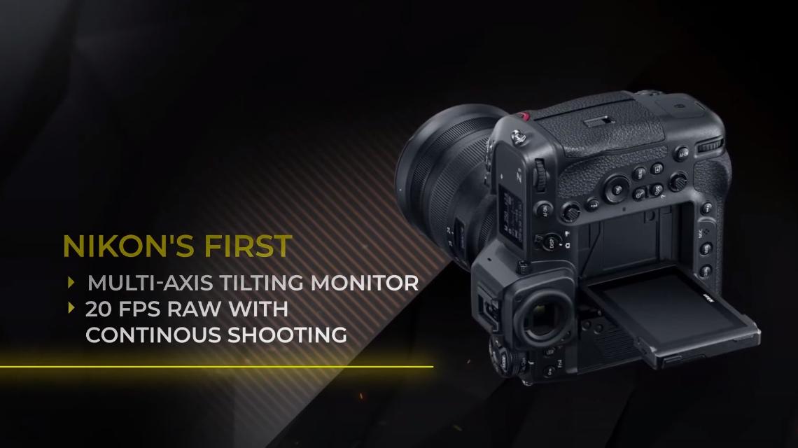 Поворотный экран Nikon Z9