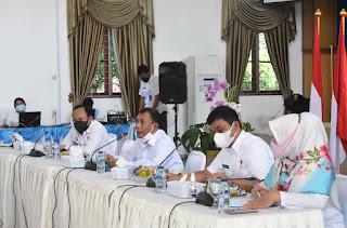 Bupati Deli Serdang Pimpin Rapat Koordinasi SP4N-Lapor