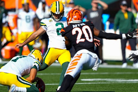 BENGALS – PACKERS (22-25 A.P.) : LE CROSBY SHOW