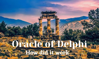 How did the Oracle of Delphi work