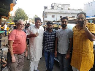 इंदौर विधायक संजय शुक्ला विशाल पटेल से कांग्रेस कार्यकर्ताओं ने की सौजन्य भेंट