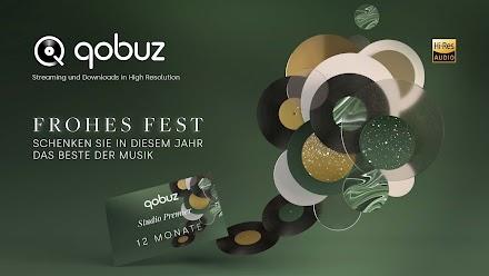 Qobuz Geschenkgutscheine für Hi-Res Streaming- oder Musik Download | Vorweihnachtlicher Tipp
