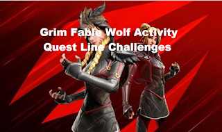 Grim Fable Wolf Activity Quest Line Challenges Guide Fortnite Chapter 2 Season 8