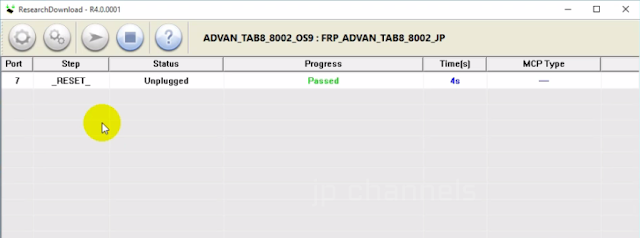 TANPA PASSWORD...FILE SAKTI BYPASS FRP ADVAN TAB 8 MODEL 8002