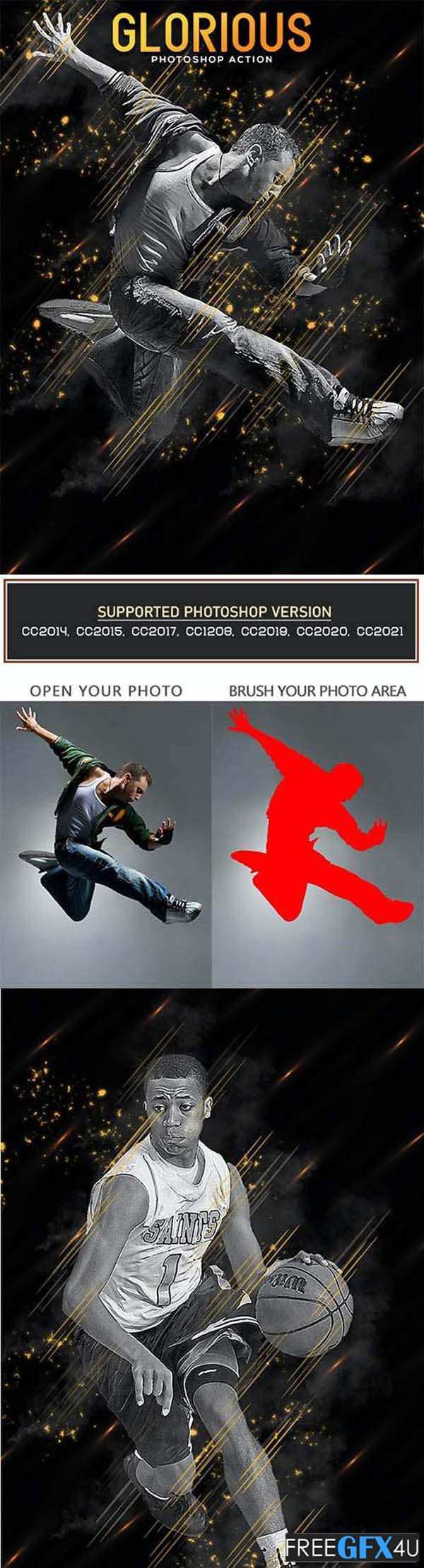 Glorious Photoshop Action