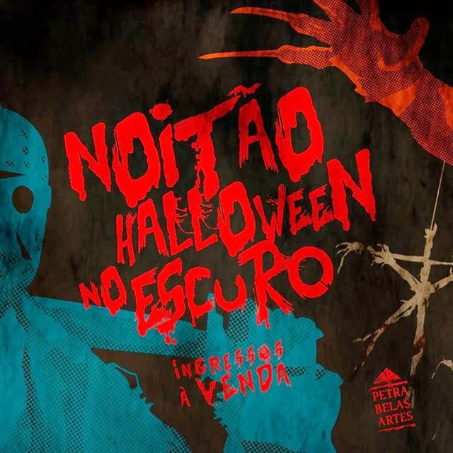 """CINEMA: Noitão """"Halloween no Escuro"""", dia 29/10, com maratona de filmes de terror!"""