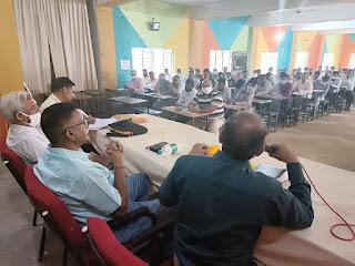 राज्य शिक्षा केन्द्र भोपाल मध्यप्रदेश के द्वारा प्राथमिक व माध्यमिक विद्यालयों का किया निरीक्षण