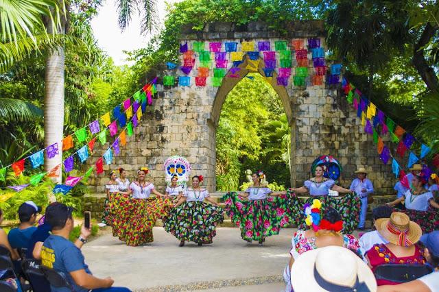 Día de los Muertos en Caribe Mexicano