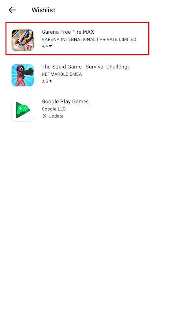 Cara Membuat Daftar Wishlist di Play Store (Daftar Aplikasi Yang Ingin Diinstall atau Dibeli)