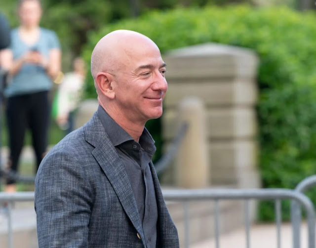 The richest person on the planet, Amazon's billionaire Jeff Bezos with a fortune of over $200 billion. Photo: Getty Images