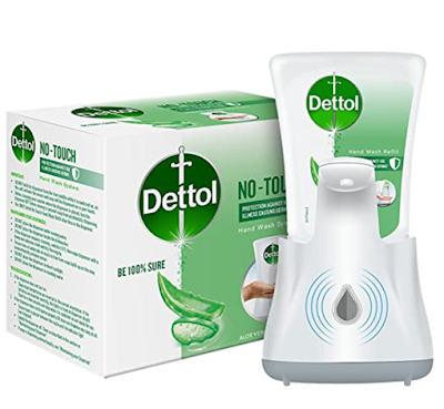 Dettol Handwash No-Touch Automatic Soap Dispenser With 10X Better Protection from Germs