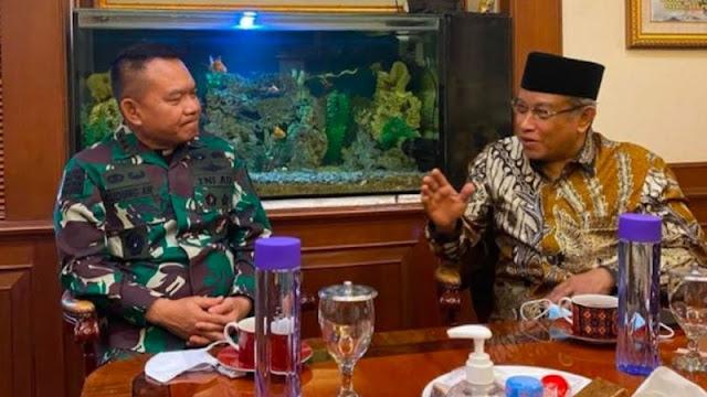 Candaan Said Aqil: Nama Letjen Dudung Kalau Mau Ditambahi 'Kiai' Bolehlah