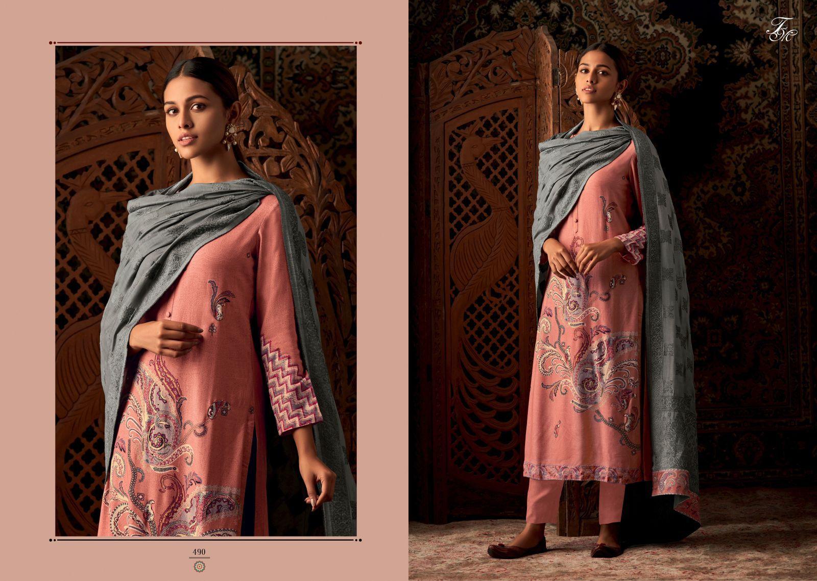 Tm Vasant Salwar Suits Catalog Lowest Price