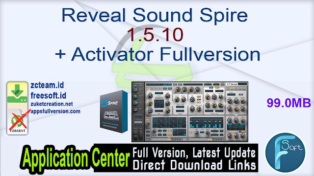 Reveal Sound Spire 1.5.10 + Activator Fullversion