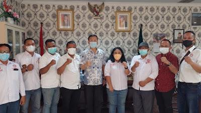 Pospera Audiensi kepada Ketua DPRD Medan