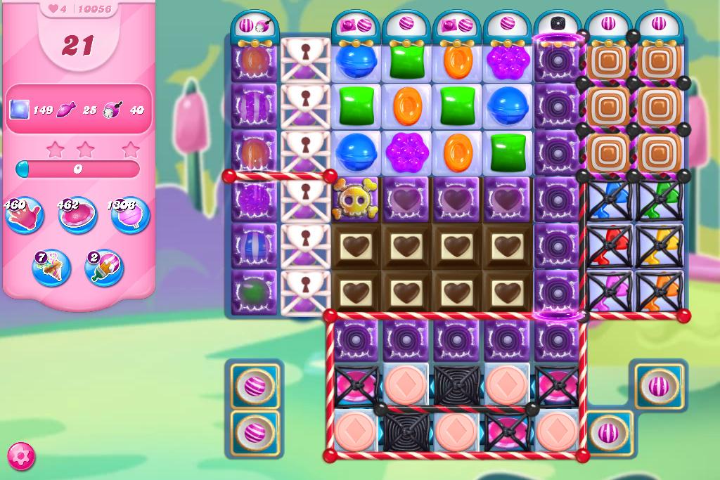 Candy Crush Saga level 10056