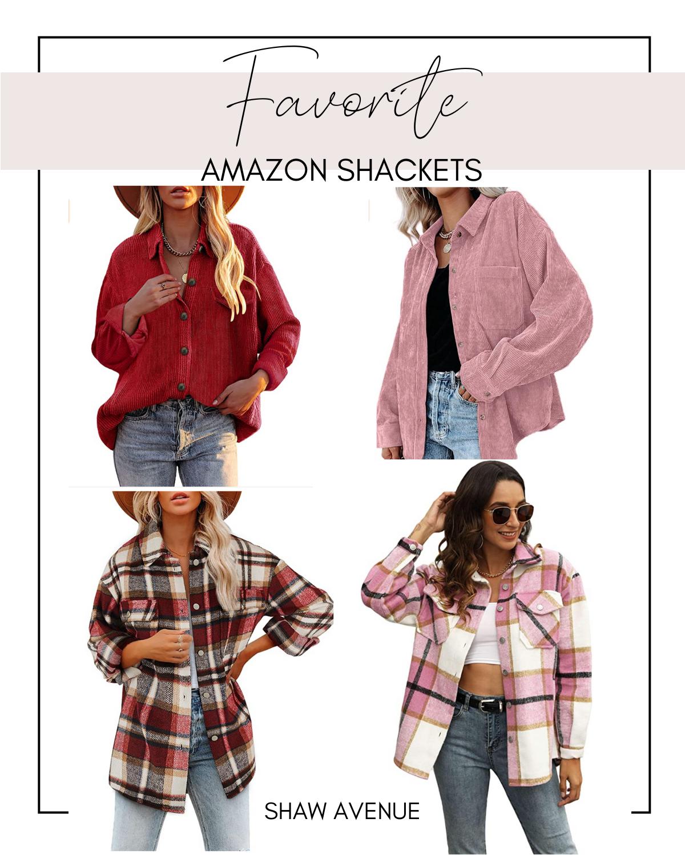 Favorite Amazon Flannel Shacket / Jacket / Oversized Shirt