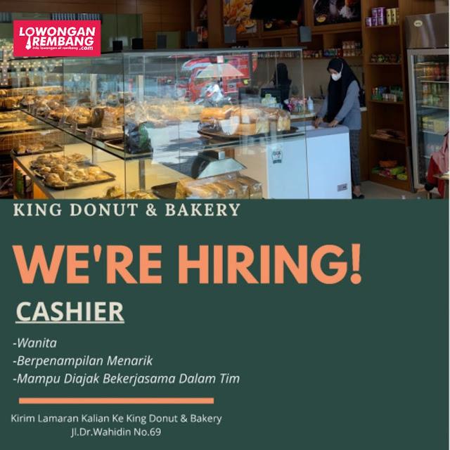 Lowongan Kerja Pegawai Toko King Donut And Bakery Rembang