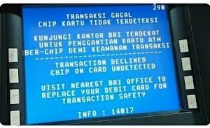 Kartu ATM BRI Chip Tidak Terdeteksi? Ini Penyebab & Solusinya