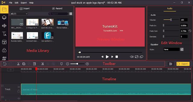 TunesKit AceMovi 4.1.0 com Crack