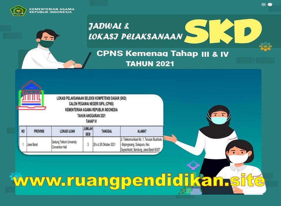 Jadwal Dan Lokasi Pelaksanaan SKD CPNS Kemenag