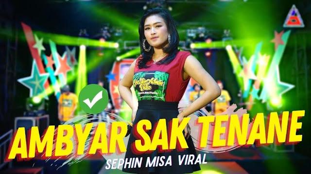 Lirik lagu Sephin Misa Ambyar Sak Tenane
