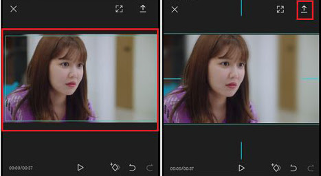 Cara Membuat Background Video Blur Capcut