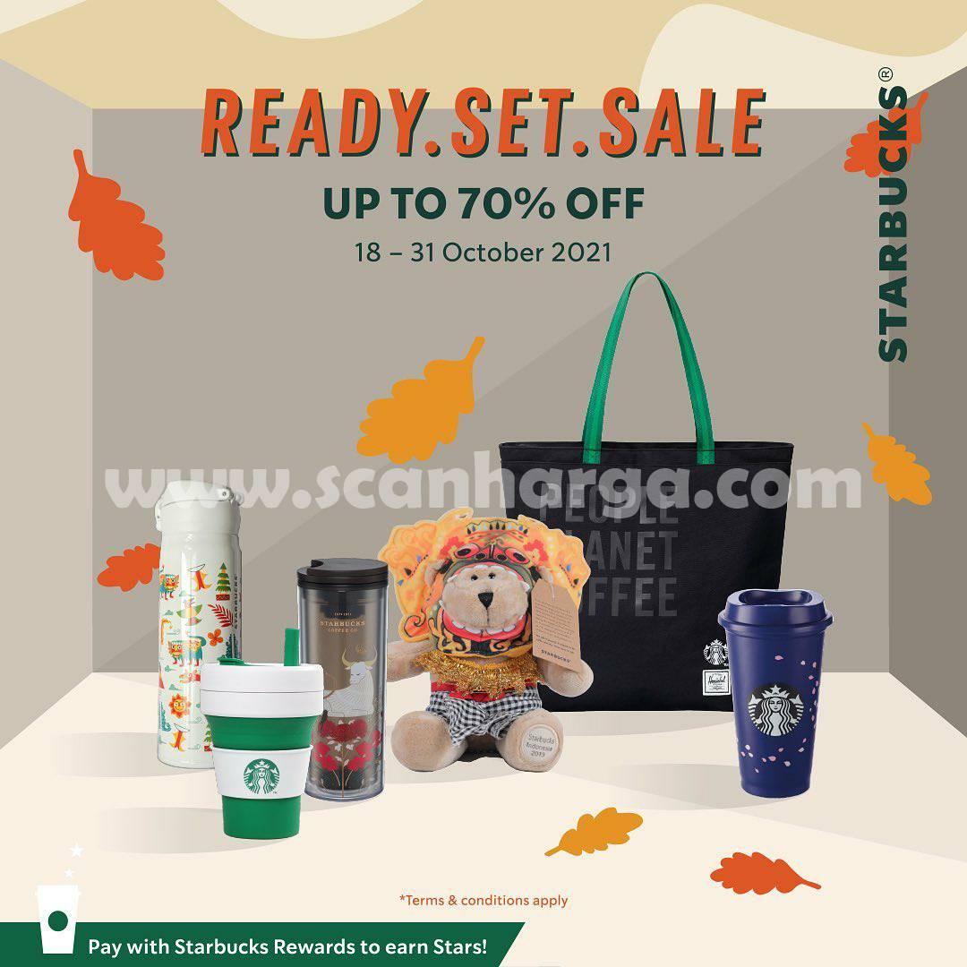 Starbucks Promo Merchandise Ready Set Sale! Diskon hingga 70%