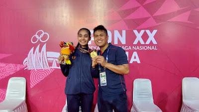 Jabar dan Sulsel Ketat Bersaing Rebut Medali Emas Cabor Karate PON Papua XX