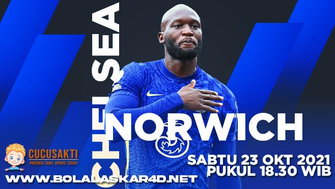 Prediksi Bola Chelsea vs Norwich City Sabtu 23 Oktober 2021