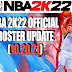 NBA 2K22 OFFICIAL ROSTER UPDATE 10.20.21 (LATEST TRANSACTIONS AND LINEUPS)