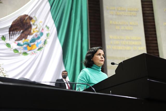 La diputada Corona Nakamura (PVEM) planteó cambios a la Ley General del Equilibrio Ecológico y la Protección al Ambiente