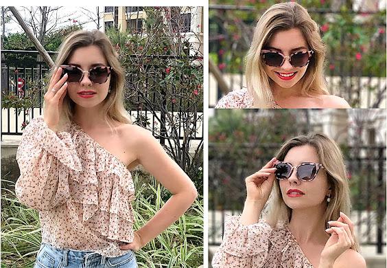 Leopard Retro Vintage Sunglasses