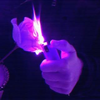 Purple Smoke Aesthetic